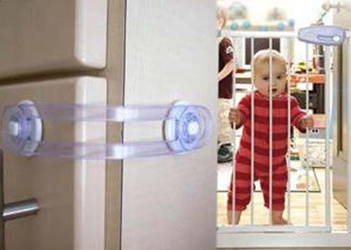 Çocuk Güvenlik İkili Çekmece Kilidi
