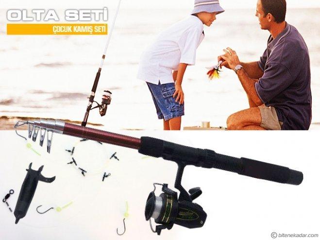 Çocuk Olta Seti - Junior Balık Olta Takımı