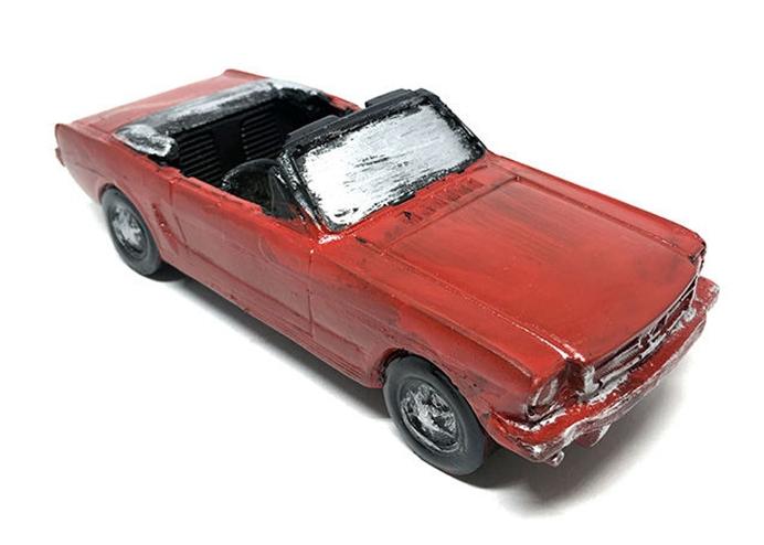 Decotown Nostaljik Üzeri Açık Araba Biblo