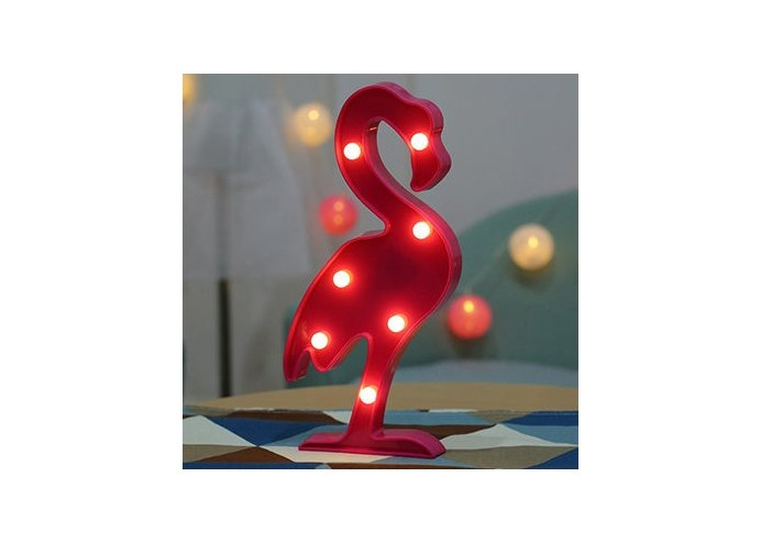 Dekoratif Led Flamingo Gece Lambası