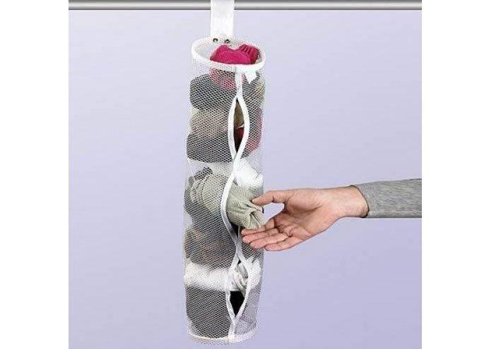 Dolap İçi Askılı Çorap Filesi
