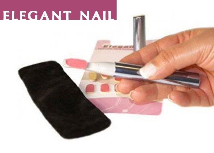 Elektronik Tırnak Törpüsü ve Cilalama Seti: Elegant Nail