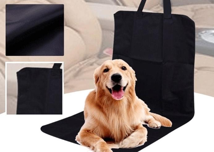 Evcil Hayvan Tekli Araç Koltuk Kılıfı - Siyah