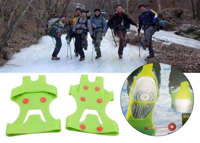 Fosforlu KarPatik Ayakkabı Kar Zinciri: Kayma Önleyici Buzpatik