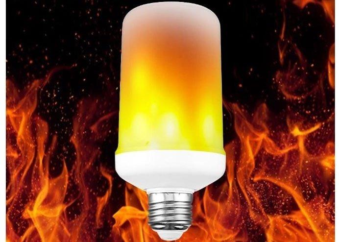 Gerçekçi Alev Efektli LED Ampül