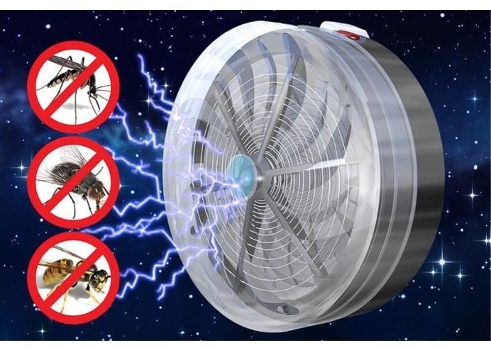 Güneş Enerjili Sinek Sivrisinek Haşere Kovucu