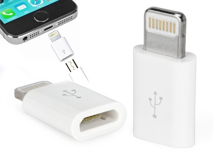 iPhone/iPad Micro USB Çevirici Adaptör