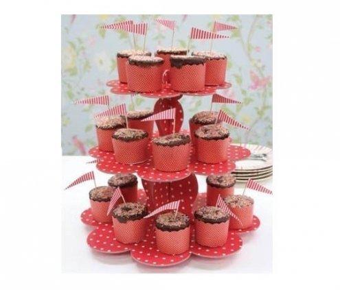 Karton Cupcake Standı