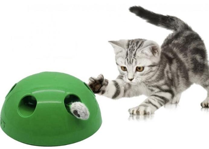 Kedi Fare Yakalama Oyuncağı 360 Derece Hareketli