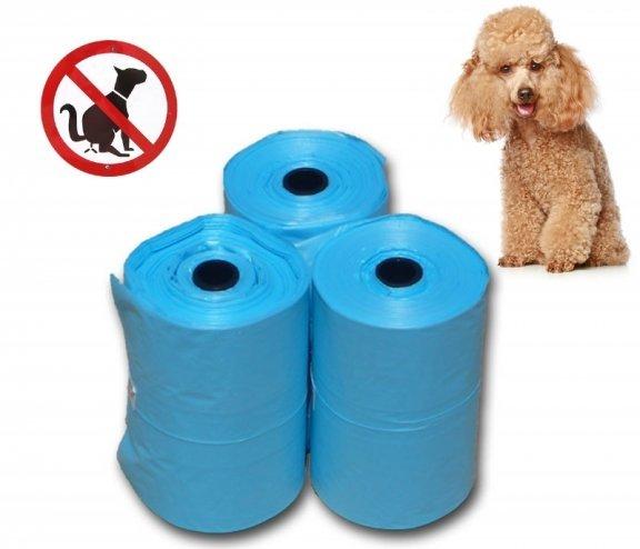 Köpeğiniz İçin Yedek Kaka Poşetleri 4lü