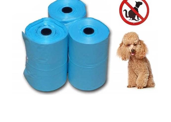 Köpek Kakası Poşeti: Pati Desenli 3 lü Poşet