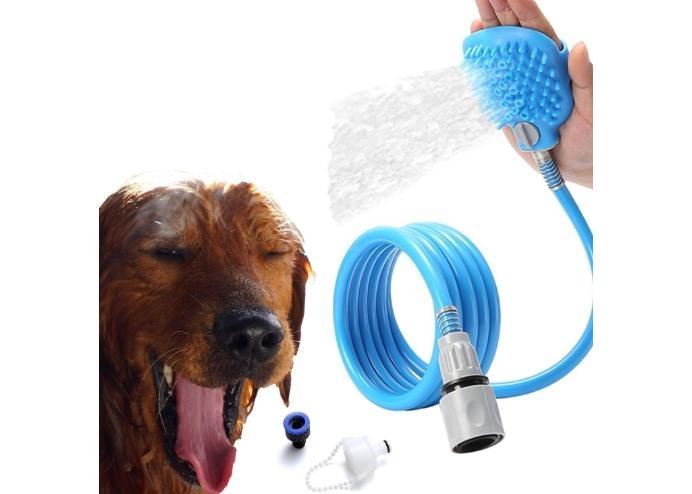 Masajlı Evcil Hayvan Yıkama Banyo Kiti Pet Bathing Tool