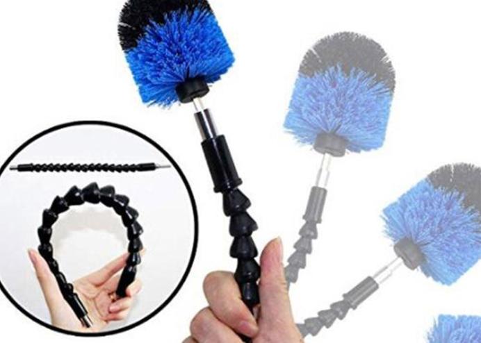 Matkap Ucuna Takılan Temizleme Fırçası (6 Parça)