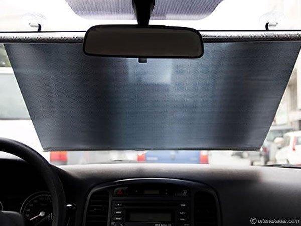 Araba Güneşliği (Döner Rulo Mekanizmalı 58cm x 125cm)