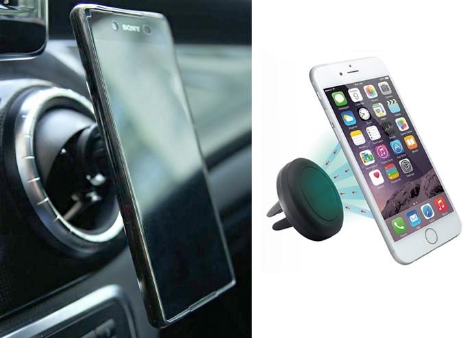Mıknatıslı Telefon Tutucu: Araç İçi Manyetik Telefon Tutacağı