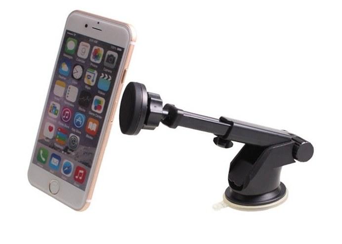 Mıknatıslı 360 Derece Teleskobik Telefon Tutucu