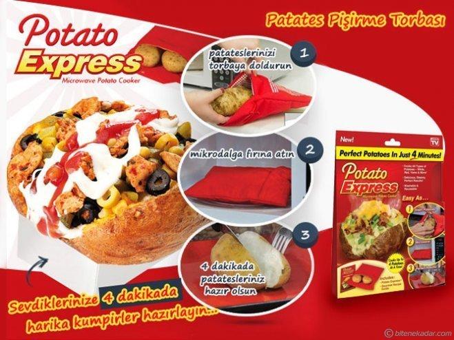 4 Dakikada Kumpir - Potato Express