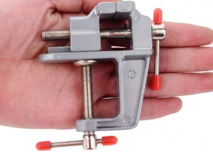 Mini Masa Tezgah Hobi Mengenesi 30mm