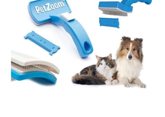 Evcil Hayvan Tarak ve Tüy Kesme Aleti: Pet Zoom (2 li Set)