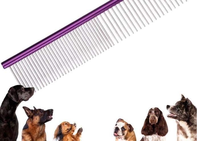 Pet Köpek Pire Tarağı: Köpek Tüyü Tarağı