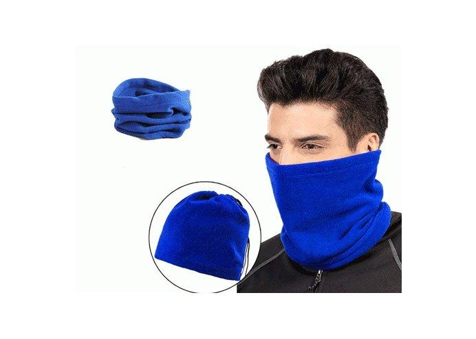 Polar Bere Boyunluk Unisex - Mavi
