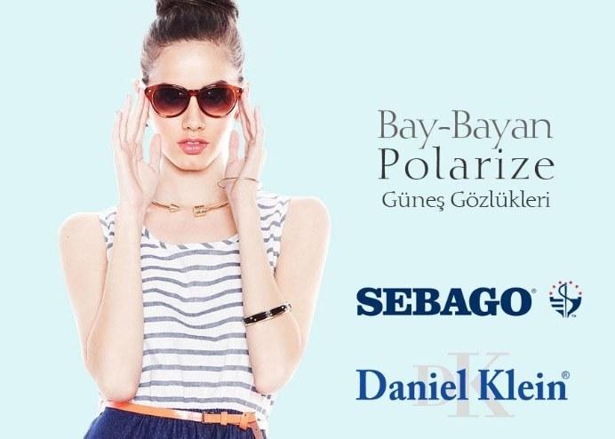 Bay-Bayan Güneş Gözlükleri (SEBAGO-Daniel Klein-Cross)