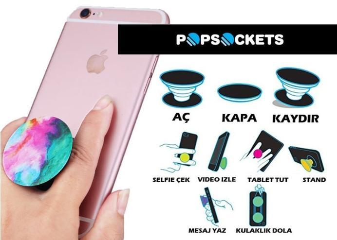 Pop Socket Yeni Nesil Telefon Tutucu