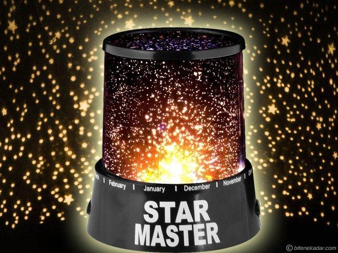 Star Master: Projeksiyon Gece Lambası
