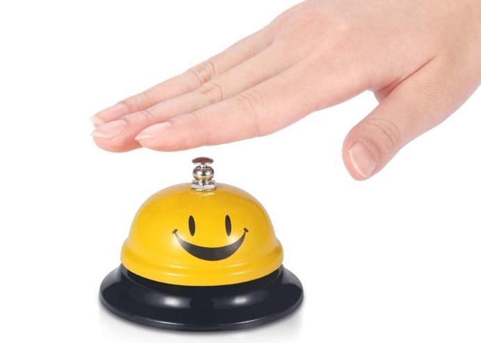 RING Masaüstü Dekoratif Resepsiyon Zili