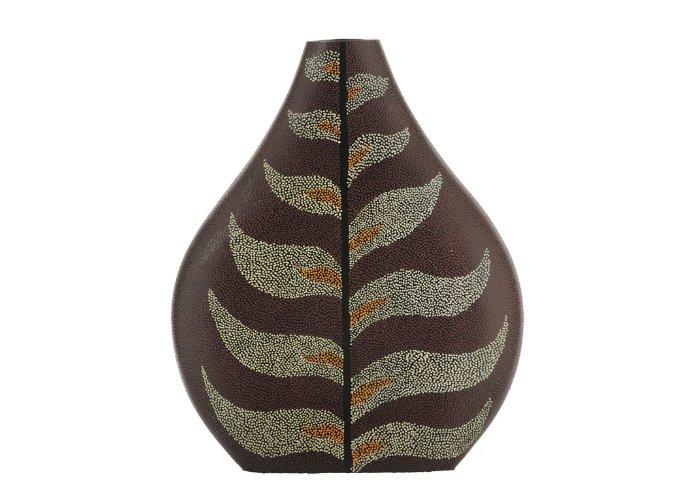 Senso Vase luka Small Daun Paku Red Vazo