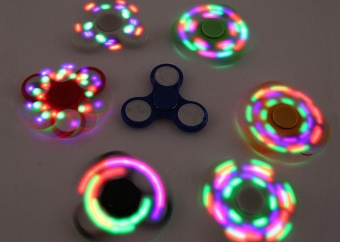 Stres Çarkı Led Işıklı Orijinal - Hand Spinner