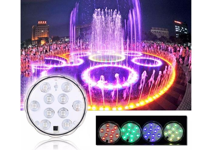 Su Altı Renk Değiştiren Uzaktan Kumandalı LED