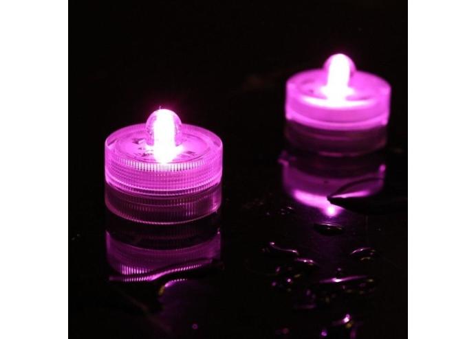 Su Geçirmez Dalgıç LED Mini Dekoratif Mum: 6 Adet