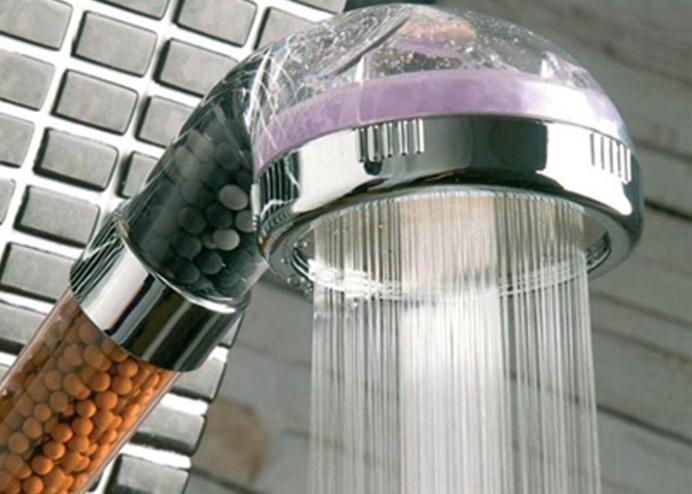 Su Tasarruflu ve Arıtmalı Duş Başlığı