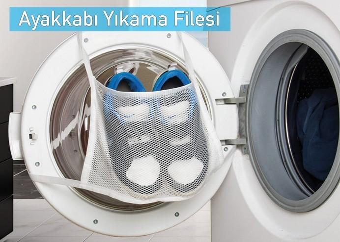 Ayakkabı ve İç Çamaşır Yıkama Filesi: Mesh Dryer Bag