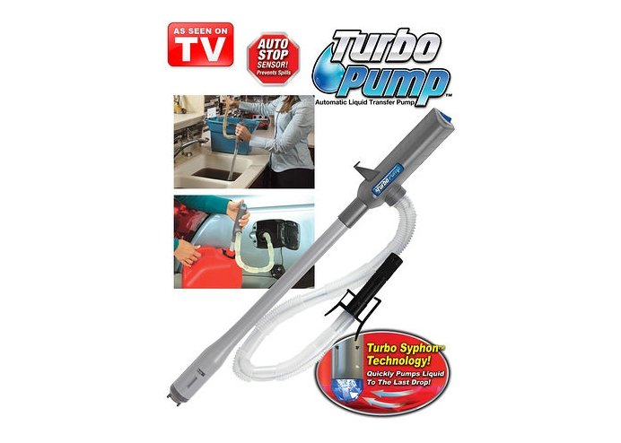 Turbo Pump Portatif Sıvı Aktarım Pompası