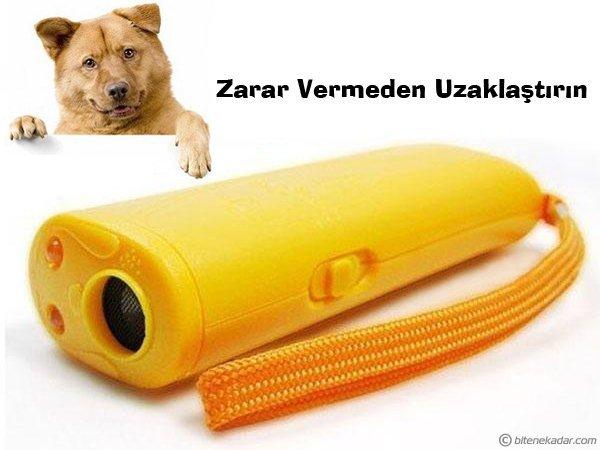 Ultrasonik Köpek Kovucu ve Eğitim Cihazı