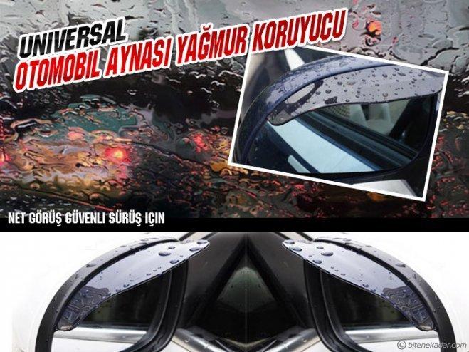 Universal Otomobil Aynası Yağmur Koruyucu (1 Çift)