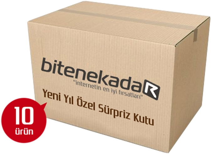 Yılbaşı Sürpriz Paketi: 10 Sürpriz Ürün (Kargo Bedava Sadece 59.90 TL)