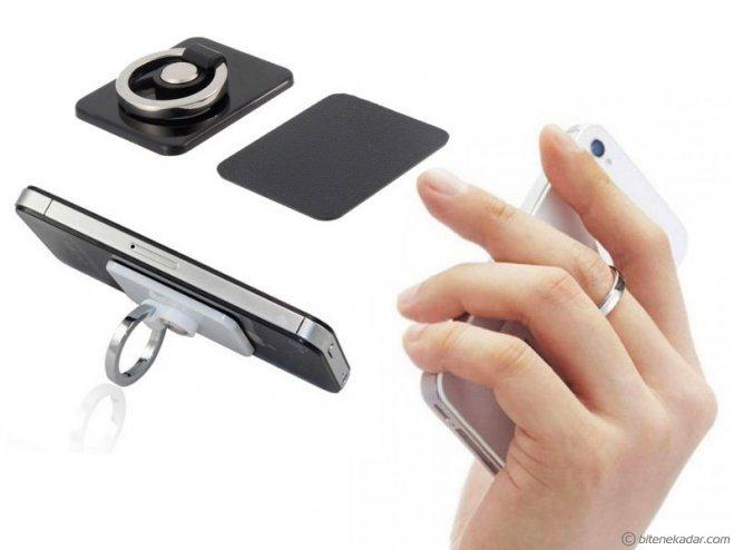 Yüzük Tasarım Telefon Tablet Tutucu: Telefonunuz Elinizden Düşmesin!