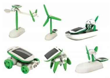6in1 Solar Robot Mucit Kiti