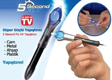 Süper Güçlü Yapıştırıcı: 5 Second Fix UV Yapıştırıcı