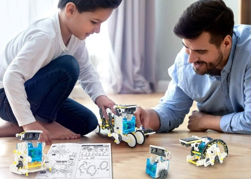 Güneş Enerjili 14in1 Solar Robot Kiti