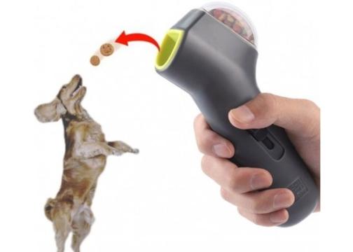 Köpek Mama Atıcı Egzersiz Oyun Tabancası