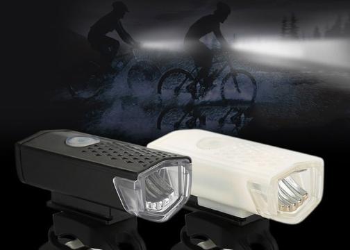 USB Şarjlı 3 Modlu 300 Lümen Bisiklet Ön Farı