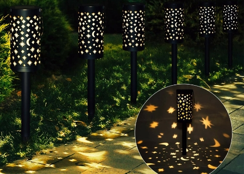 Solar Güneş Enerjili Bahçe Lambası Love Yazısı Yansıtmalı 6 Lı set