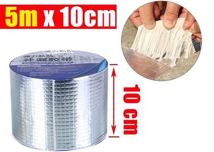 Alüminyum İzolasyon Tamir Çatlak Bandı 10 cm 5 Metre Çamur Bant
