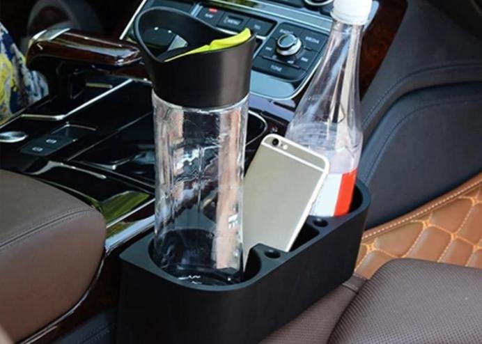 Araç İçi Organizer Kutu: Bardak Kalem Cep Telefon Tutucu Konsol
