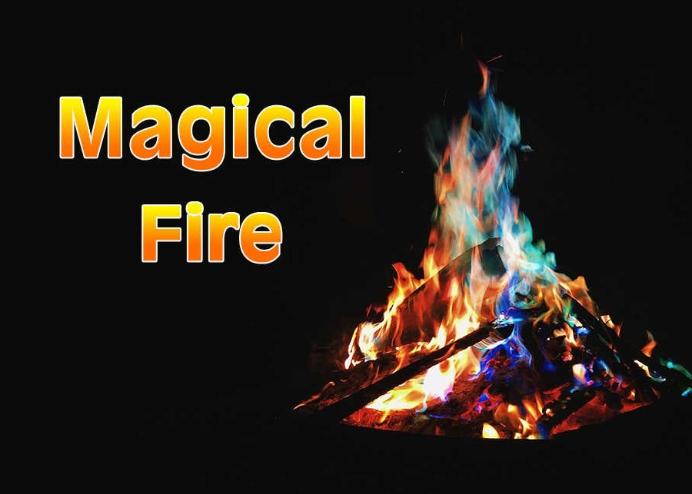 Sihirli Kamp Ateşi Tozu - Magic Fire