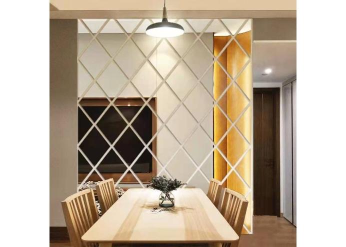 Yapışkanlı Dekoratif Akrilik Ayna ( 32 Parça )